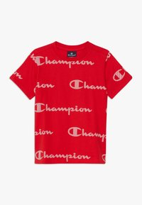 Champion - LEGACY AMERICAN CLASSICS CREWNECK  - T-shirt imprimé - red - 0