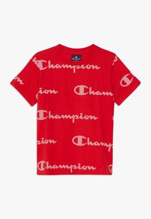 LEGACY AMERICAN CLASSICS CREWNECK  - T-shirt imprimé - red