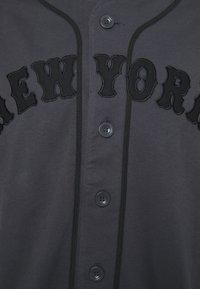 Fanatics - MLB NEW YORK METS FRANCHISE SUPPORTERS FASHION - Print T-shirt - black - 2