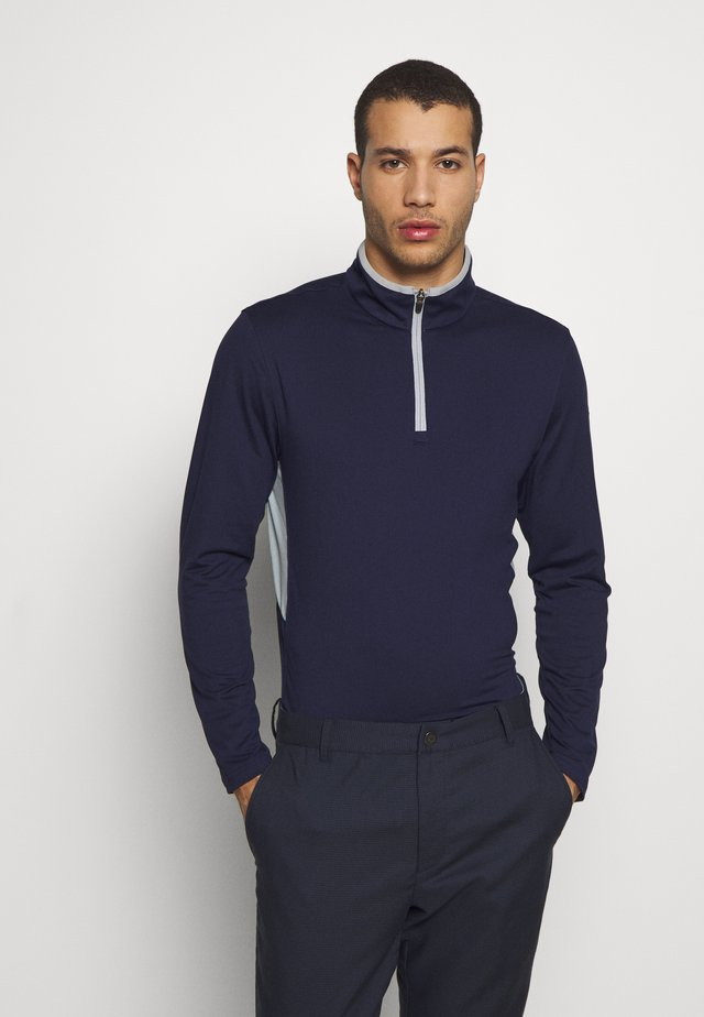 ROTATION ZIP - T-shirt de sport - peacoat