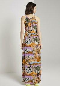 TOM TAILOR DENIM - Maxi dress - tropical print - 2