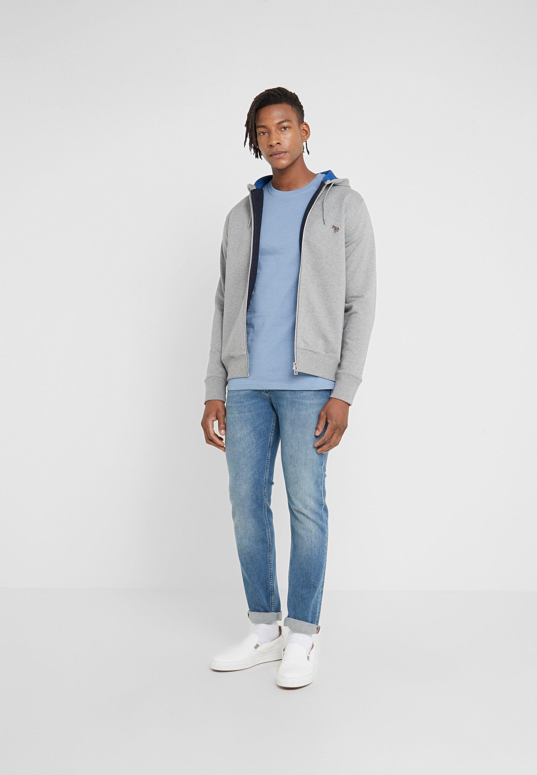 Men HOODED ZIP - Zip-up sweatshirt
