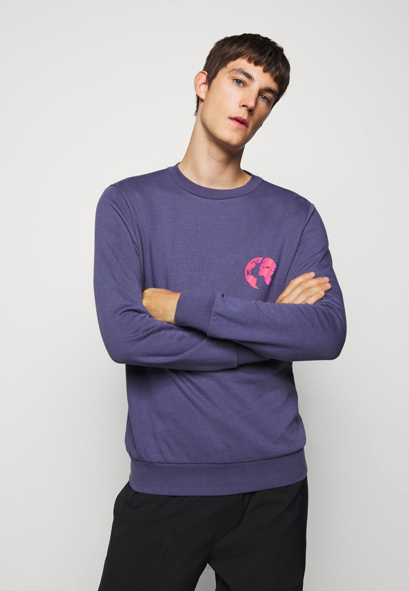 Paul Smith - GENTS WORLD ELEMENTS  - Mikina - purple