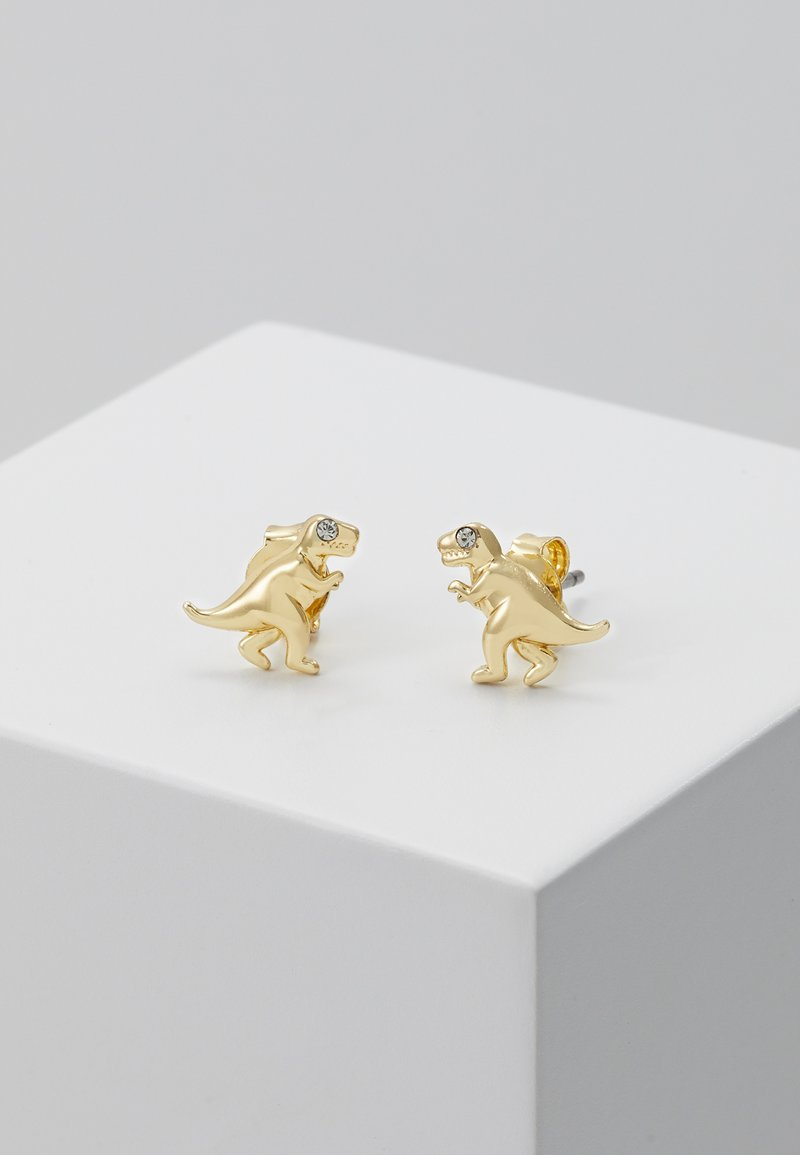 Coach - REXY STUDS - Earrings - gold-coloured