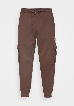 SMALL SIGNATURE UNISEX - Cargo trousers - brown