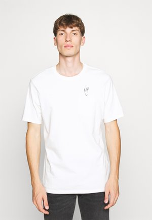 LEVI'S® X PEANUTS SUNSET POCKET TEE UNISEX - Camiseta estampada - white