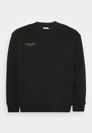 ESSENTIAL PRINT - Sweatshirt - black