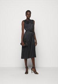 Sand Copenhagen - RAYA SLEEVELESS DRESS - Robe de soirée - black - 1