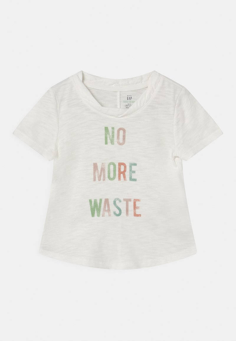 GAP - TODDLER GIRL EASY  - T-shirt print - new off white