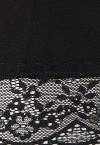 Vila - VIOFFICIAL CROPPED - Leggings - Trousers - black - 2