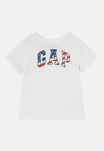 TODDLER BOY FLAG TEE - T-shirt med print - new off white