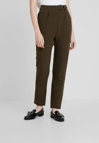 UNIQUE 21 - UTILITY STYLE MILITARY TROUSER - Trousers - green - 0