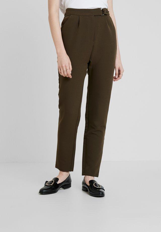 UTILITY STYLE MILITARY TROUSER - Spodnie materiałowe - green