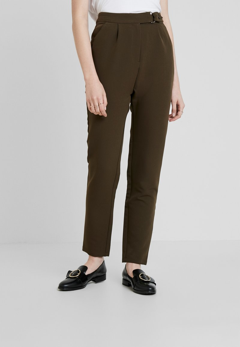 UNIQUE 21 - UTILITY STYLE MILITARY TROUSER - Trousers - green