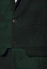 Henrik Vibskov - ANTS SHOWERTILES - Blazer jacket - black/dark green - 6