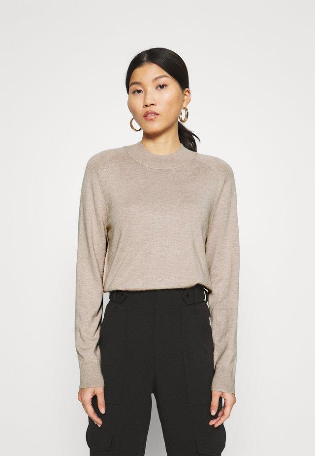 Pullover - alpaca melange