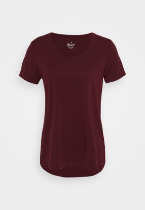 MATERNITY GYM TEE - T-shirt - bas - mulberry