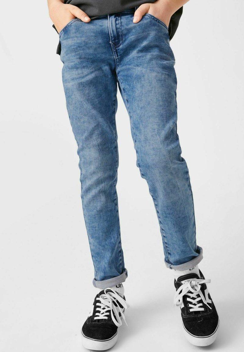 C&A - Slim fit jeans - denim-blue