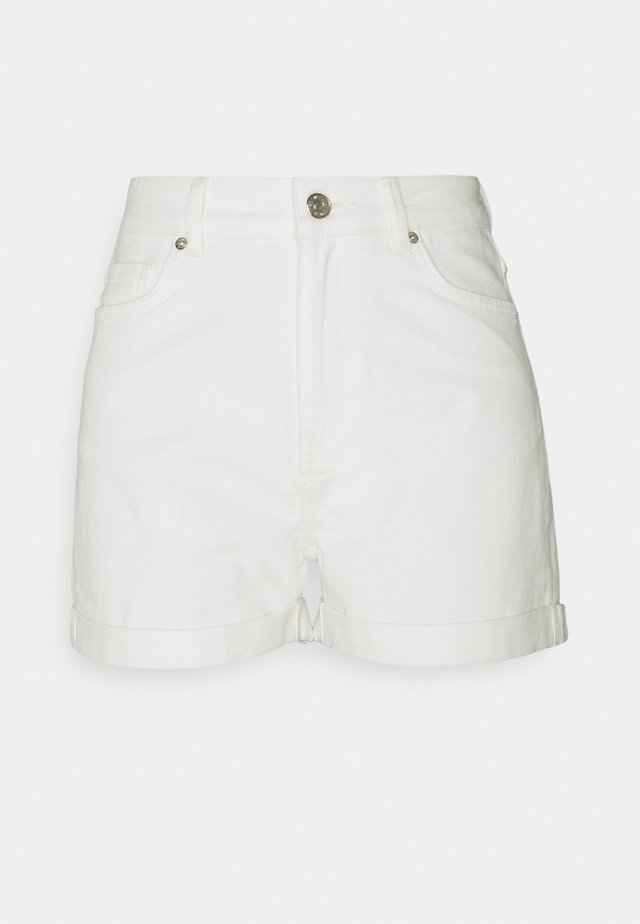 ABARNA - Shorts di jeans - broken white