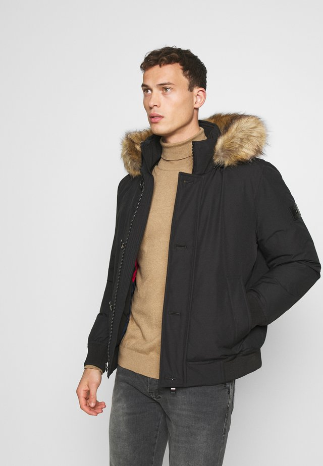 HAMPTON - Down jacket - black