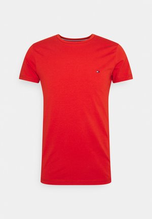 STRETCH SLIM FIT TEE - T-shirt - bas - indian summer