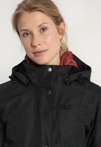 Jack Wolfskin - PARK AVENUE - Winter jacket - black - 5