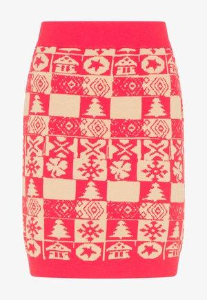 Mini skirt - rot