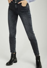 NAF NAF - Slim fit jeans - grey - 0