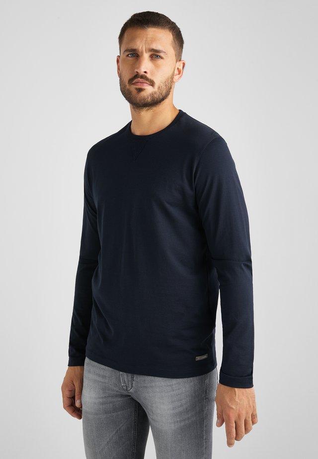 TESORIO - Long sleeved top - marine blau