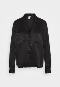 Nly by Nelly - Button-down blouse - black - 3