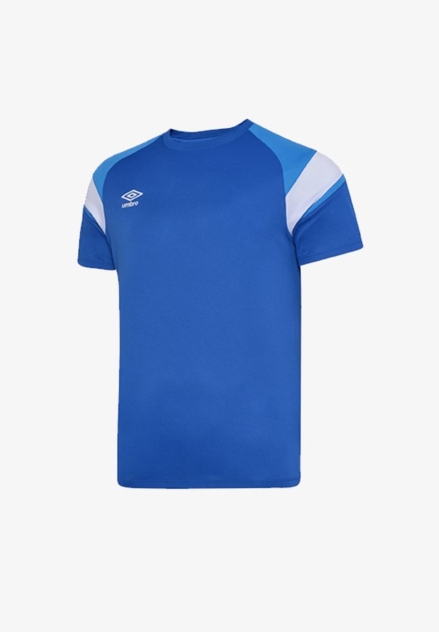 Basic T-shirt - blauweiss