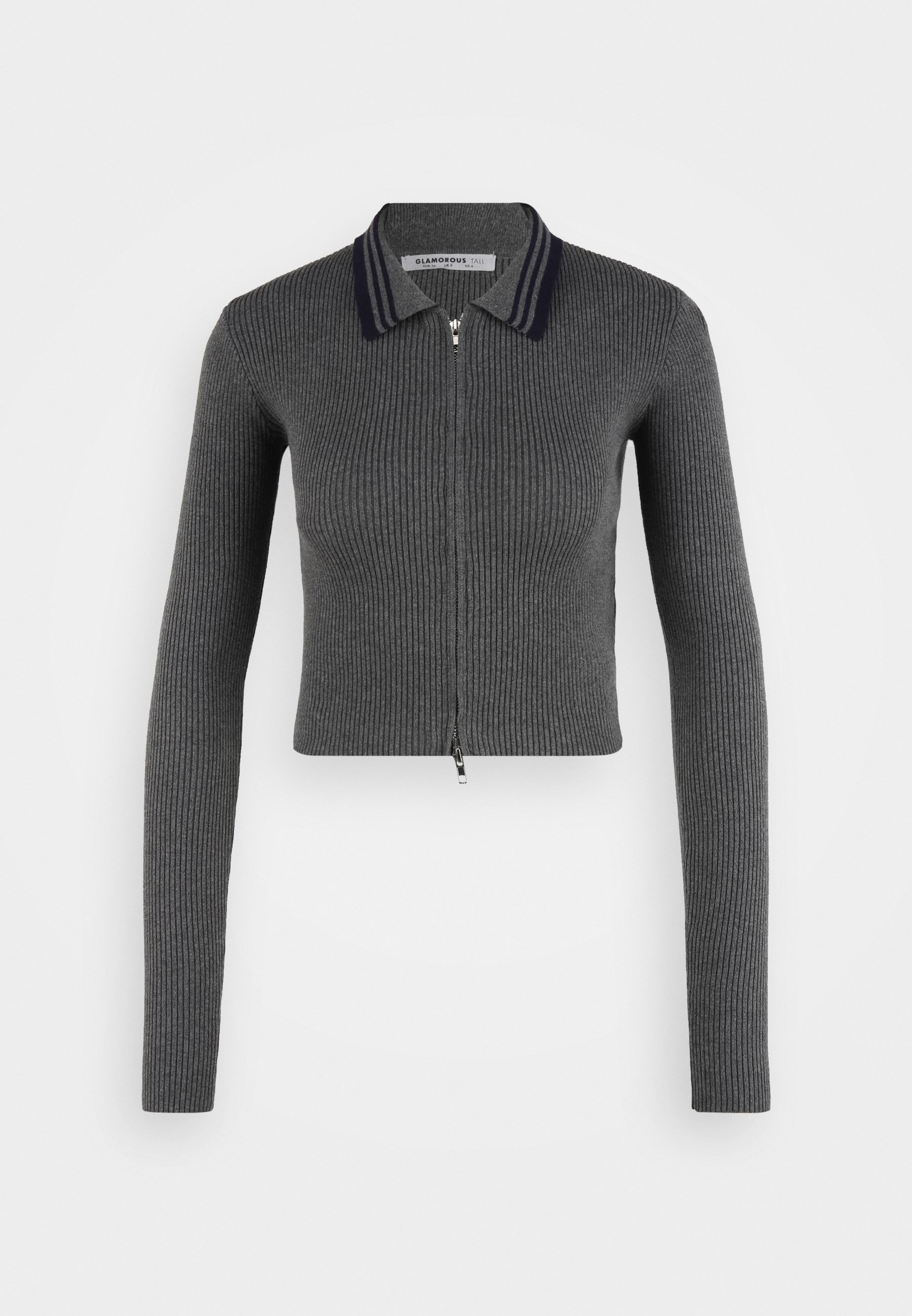 Femme COLLARED ZIP FRONT  - Pullover