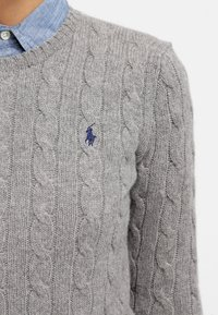 Polo Ralph Lauren - JULIANNA  - Jumper - fawn grey heather - 4