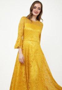 Madam-T - Cocktail dress / Party dress - gelb - 4