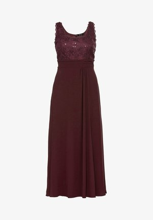 Vestido de fiesta - aubergine