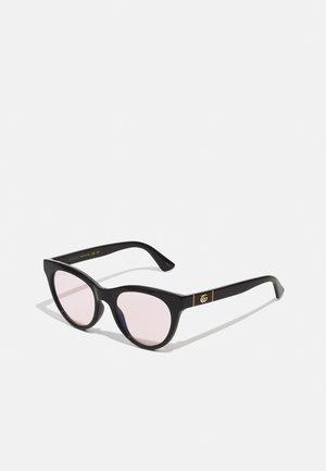 BLUE & BEYOND - BLUE LIGHT - PHOTOCHROMIC LENS - Sluneční brýle - black/black/pink