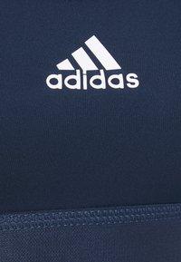 adidas Performance - BRA - Brassières de sport à maintien normal - crew navy/white - 5