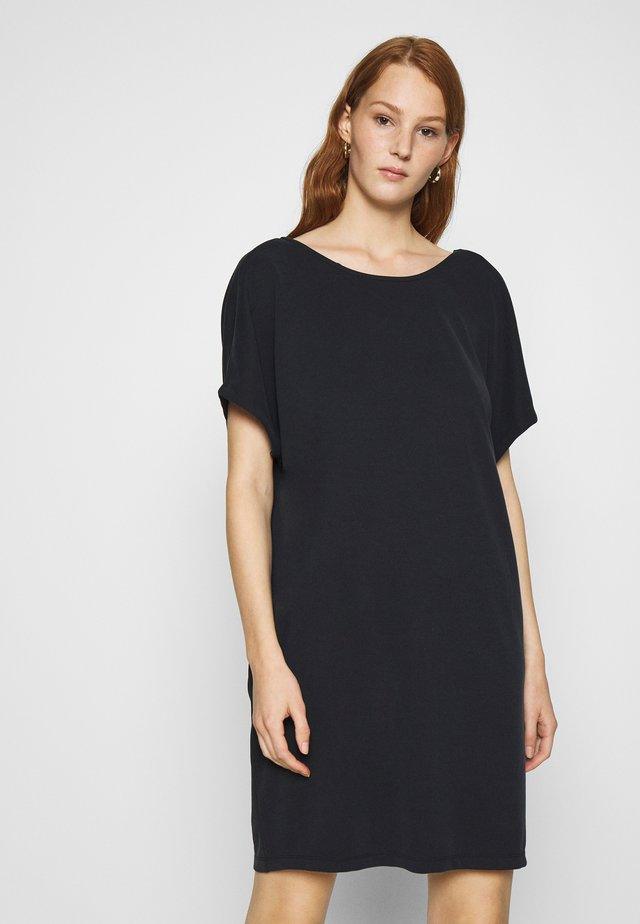 KATTIE - Jersey dress - black