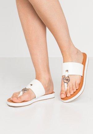 SYMPHONIC - Sandaler m/ tåsplit - white