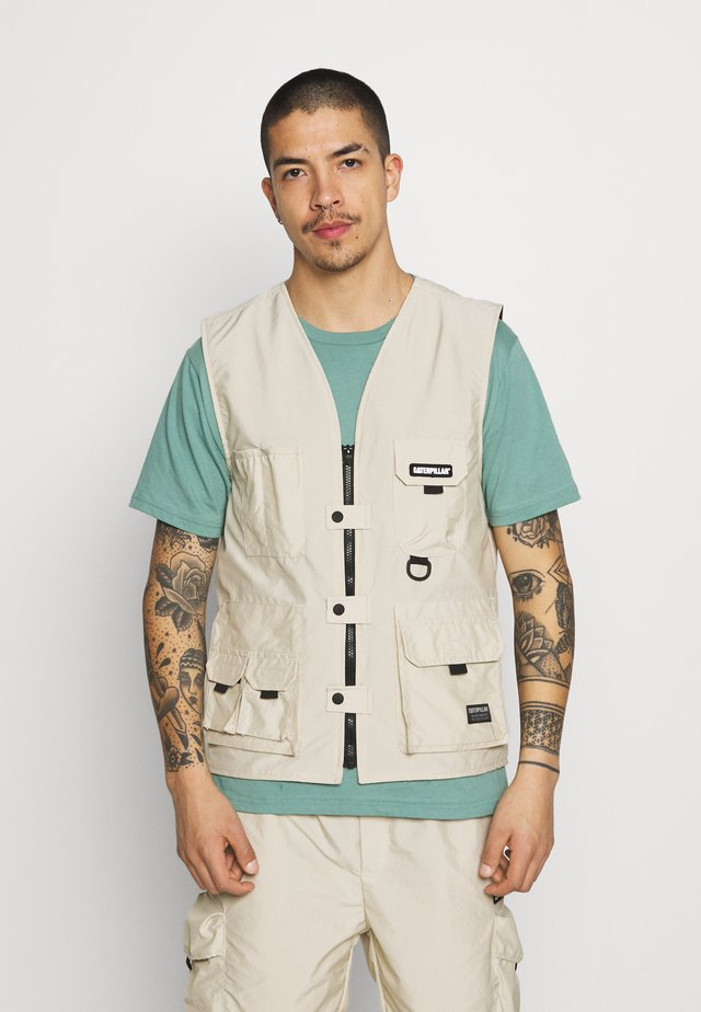 HIGH TECH OUTDOOR VEST - Weste - camel
