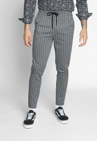 Only & Sons - ONSDESMOND - Tracksuit bottoms - griffin/black - 0