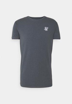 SHORT SLEEVE GYM - T-shirt basic - navy