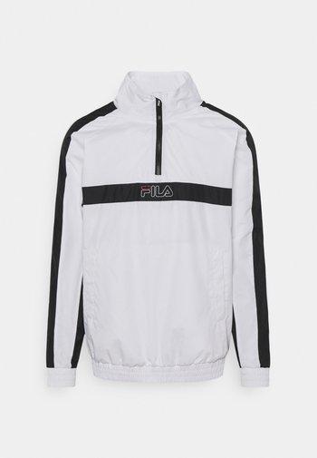 JAMARI TAPED ANORACK JACKET - Sportovní bunda - bright white/black