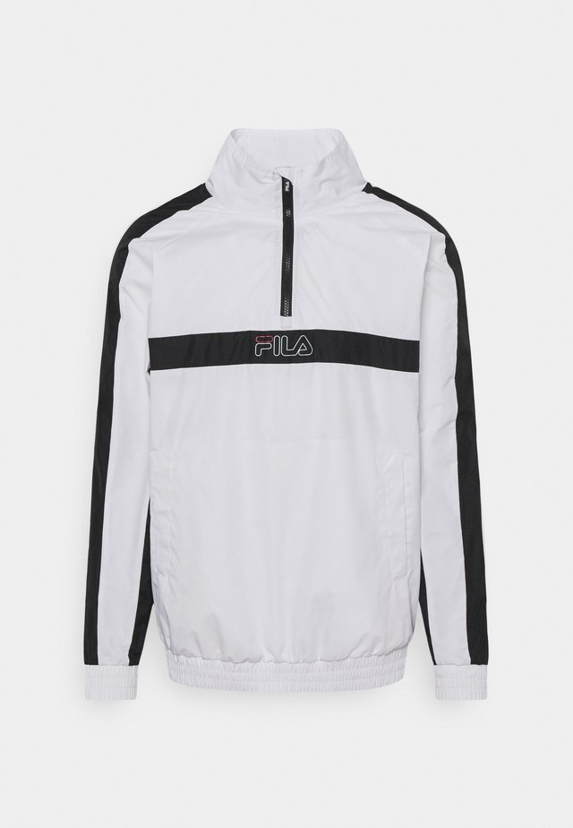 JAMARI TAPED ANORACK JACKET - Training jacket - bright white/black