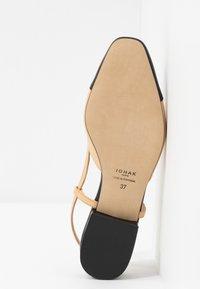 Jonak - DHAPOU - Slingback ballet pumps - noir/beige - 6