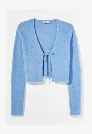 MIT SCHLEIFE - Cardigan - light blue
