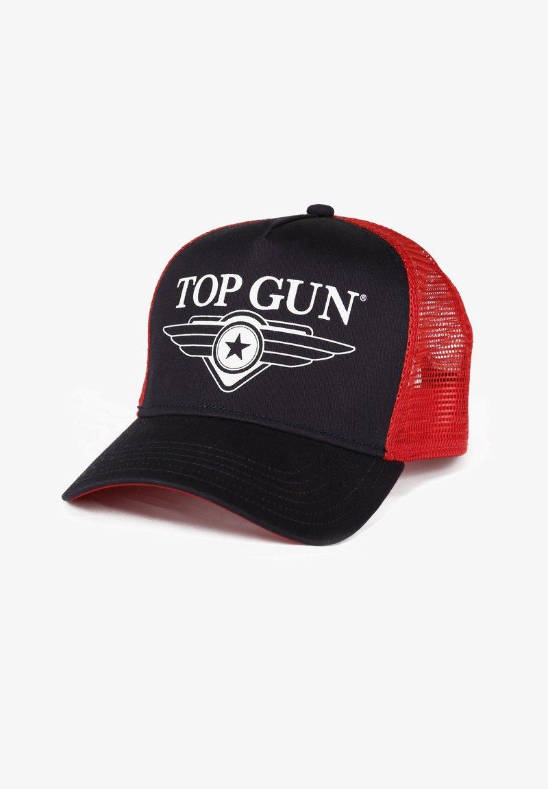 TOP GUN - 3008 - Cap - navy/red