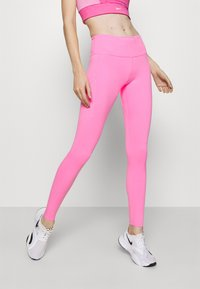 Nike Performance - EPIC LUXE - Tights - pink glow/silver - 0