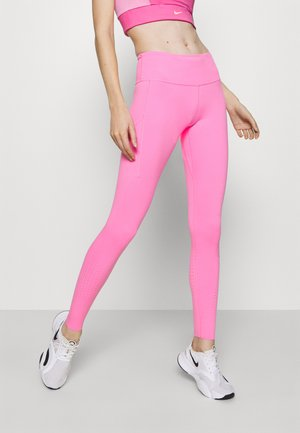 EPIC LUXE - Leggings - pink glow/silver