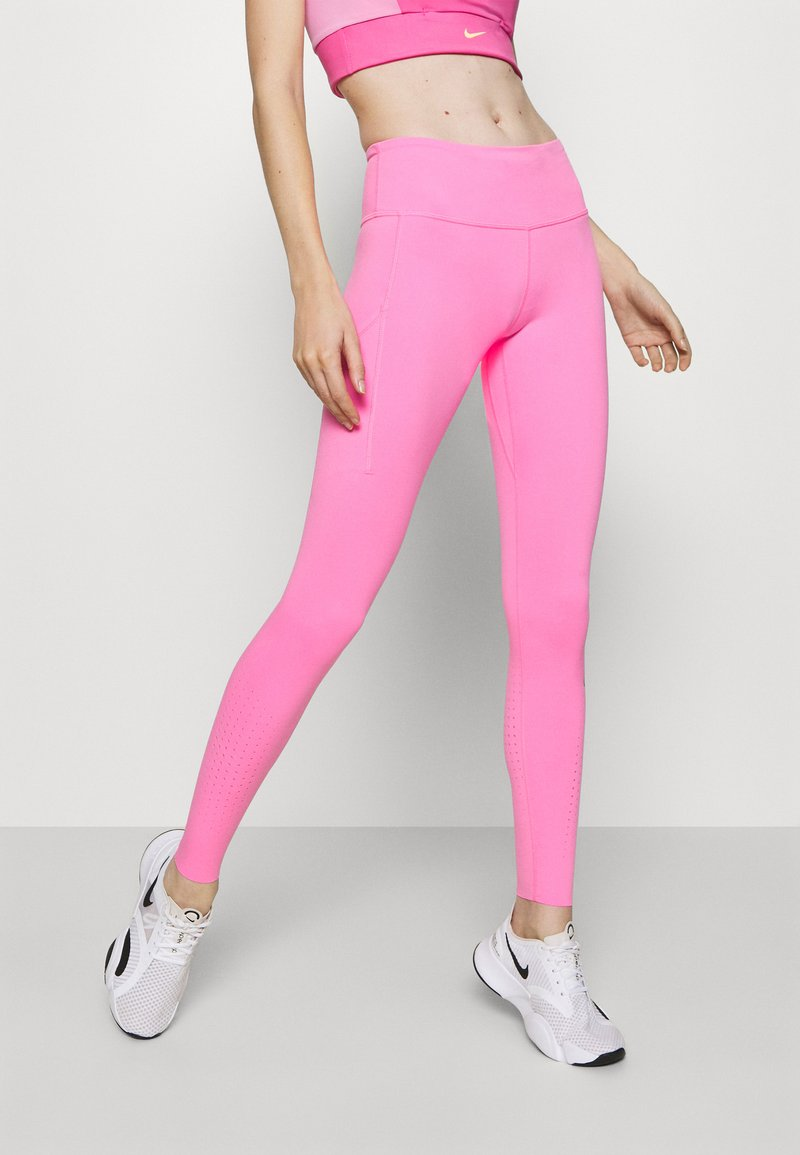 Nike Performance - EPIC LUXE - Tights - pink glow/silver